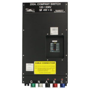 Generator Connection Box: 100 - 400 Amp | Union Connector
