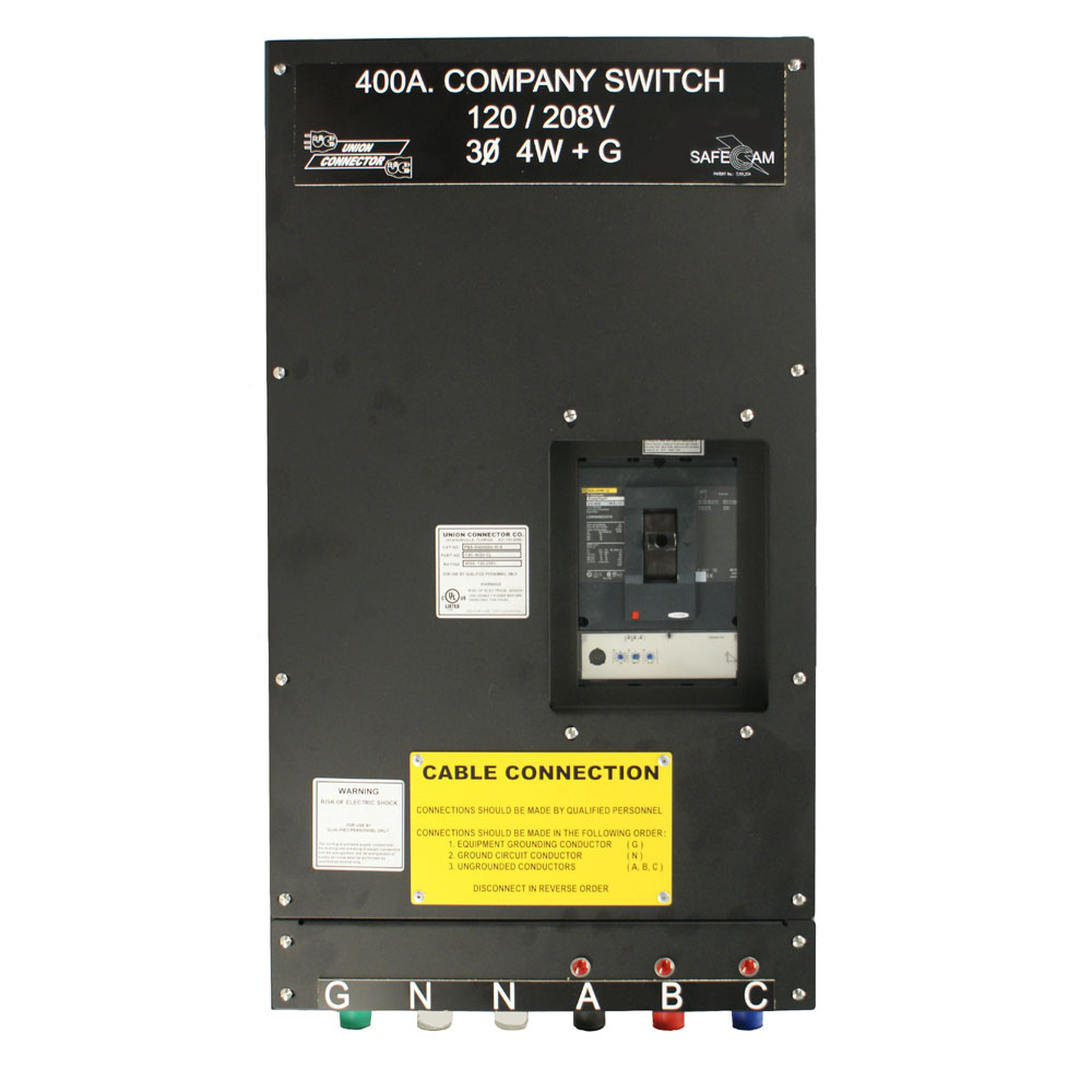 Generator Connection Box: 600 - 800 Amp | Union Connector