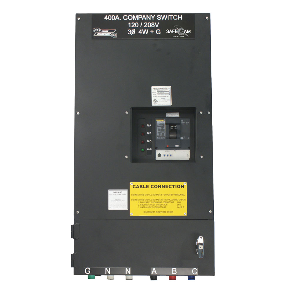Series 16 Cam Receptacles 400 Amp | Union Connector